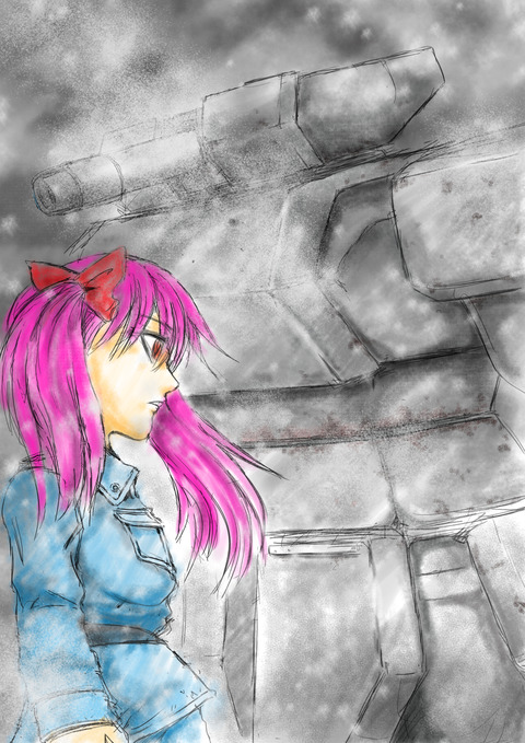 寒い国からの魔法少女挿絵10