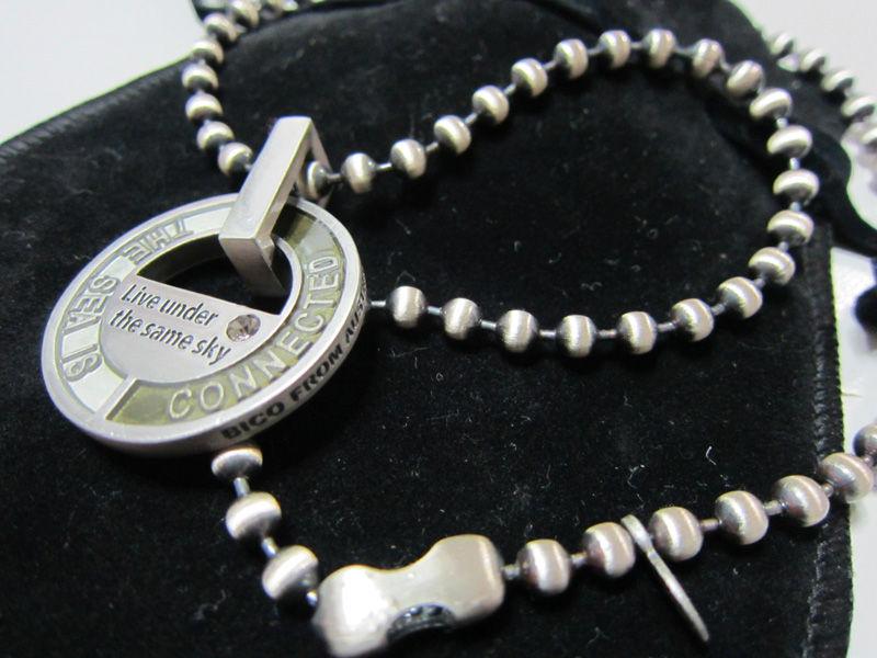 おまけ画像 お土産でオーストラリアサーフアクセサリーブランドBICOのネックレスいただきました。ありがとうございます!