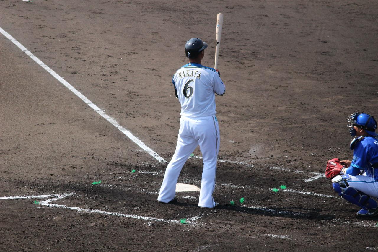 野球の記録で話したい : 中田翔...