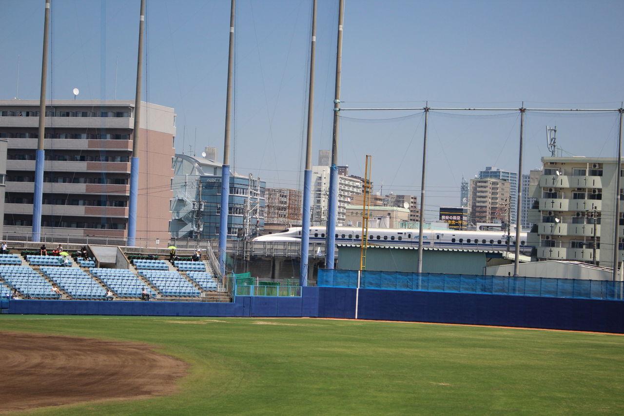 野球の記録で話したい : 場末感漂うナゴヤ球場の中日-ソフトバンク戦