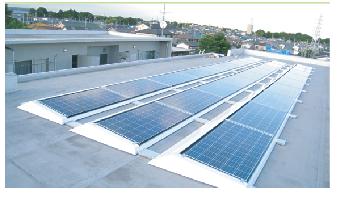 太陽光発電の絵
