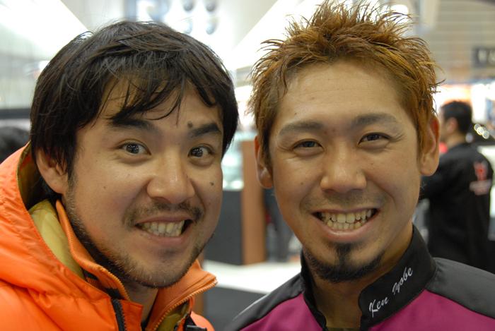 ランカーキラー斉藤さんとイヨケン