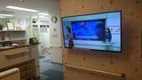 2017年9月 待合室にテレビ設置
