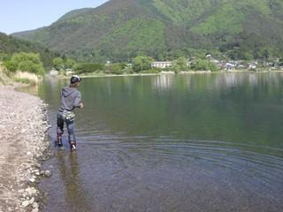 河口湖 バス釣り ポイント ブラックバス ルアー