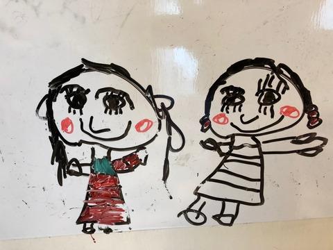 娘の描く絵