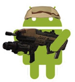 android-robot-military