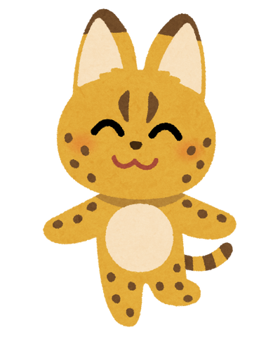 animal_character_serval