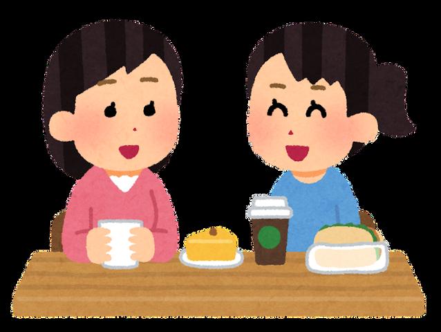 cafe_conbini_counter_eat-in_woman