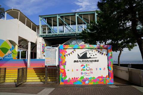 今日は撮影で横浜・八景島シーパラダイスにお邪魔しています。