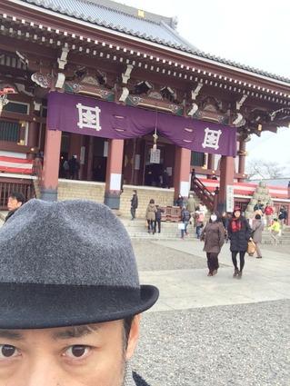 本門寺de初詣