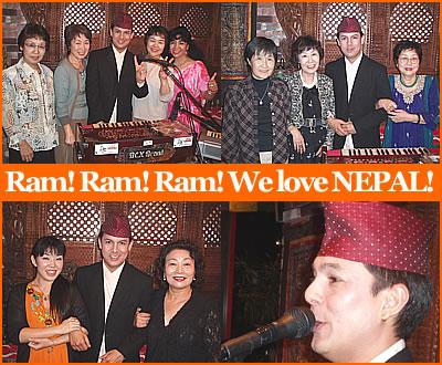 We love Ramkrishna Dhakal and NEPAL!