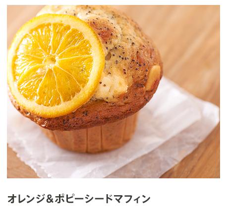 オレンジ&ポピーシードマフィン