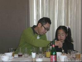 2008総会 親子での参加者