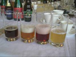 2008総会 コップのビール