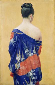 220px-Okada_Saburosuke_-_Kimono_with_Iris_Pattern