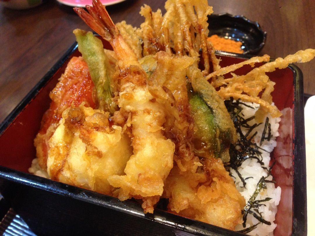 熱々の日本食