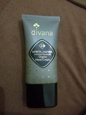 divana オーガニックハンドクリーム