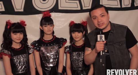 【エンタメ画像】【BABYMETAL】Rock on Range 2015のインタビュー動画が公開!すぅちゃん英語上手すぎwwww