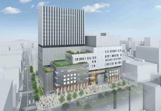 【大宮駅東口中央デパート再開発計画】18階建て複合ビルが ...