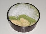 【コンビニスイーツ】2層の抹茶チーズケーキ03