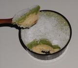 【コンビニスイーツ】2層の抹茶チーズケーキ02