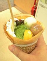 【美味しいハーゲンダッツアイスクリーム】白玉あずきサンデー01