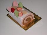 【春ののスイーツ】さくらのロールケーキ(銀のぶどう)2