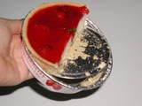 【デパ地下スイーツ】モロゾフのいちごのレアチーズケーキ01