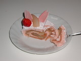 【春ののスイーツ】さくらのロールケーキ(銀のぶどう)3