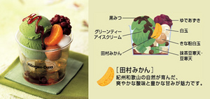 【美味しいハーゲンダッツアイスクリーム】抹茶あんみつ02