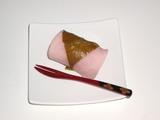 【春のスイーツ】和菓子桜餅(塩瀬総本店)080401