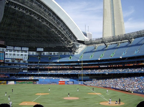 MLBの球場を紹介するで