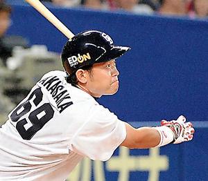 2015中日赤坂和幸 .326(43-14) 0 8