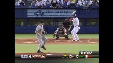 この頃の野球中継の画面が好きなんやけど