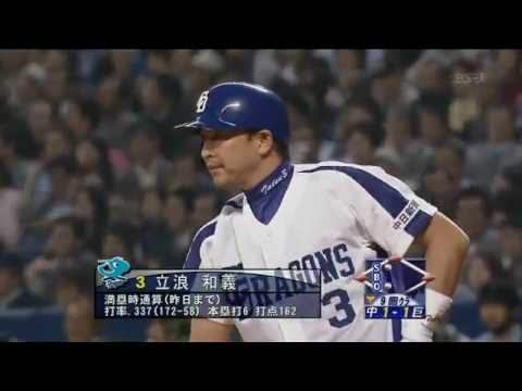 立浪君の487二塁打とかいう抜けそうで誰も抜けない記録
