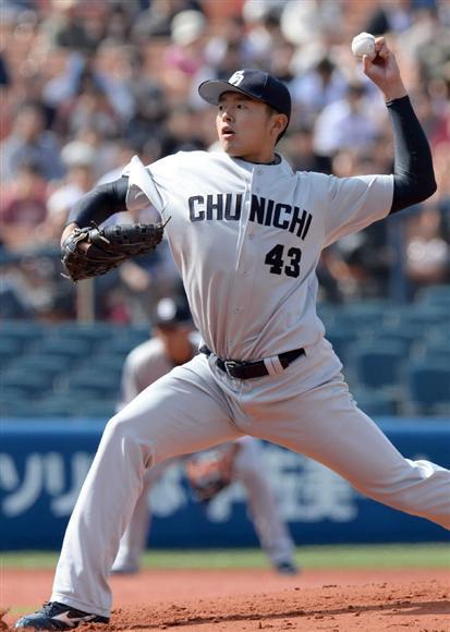 「高校ビッグ3」中日 左肋骨切除の手術受けた浜田達郎(24)が秋季練習に合流 「もう問題ない」