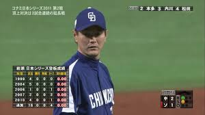 岩瀬仁紀さん、登板数で金田正一に並ぶ