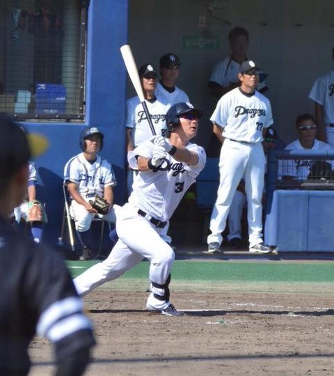 中日野本、ファームで逆転サヨナラ満塁ホームランを打つ