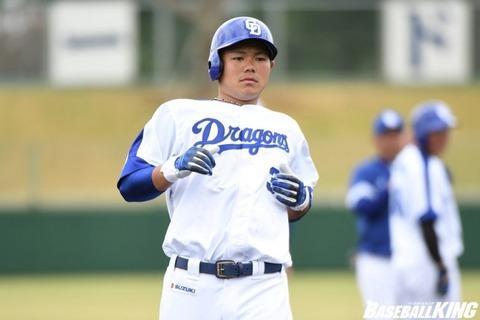 中日高橋周平 フェニックス二塁で全試合フル出場