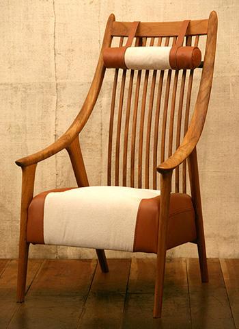 くつろぎ工芸椅子