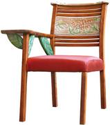 彫刻こぶり爽やか椅子