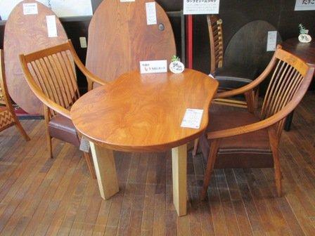 だんらん工芸椅子セット-2