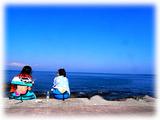 お空と海と