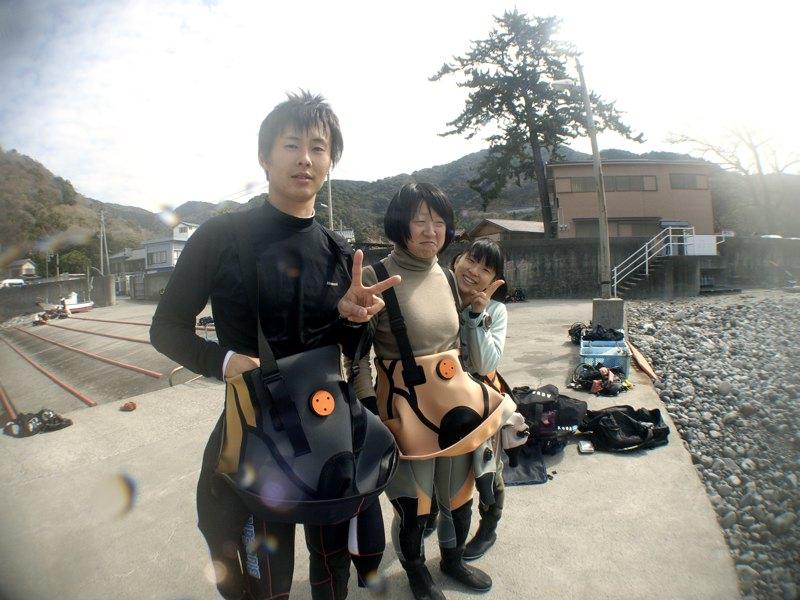 楽しい仲間とダイビング 2.28井田