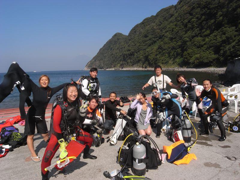 ダイビング最高! 10.18