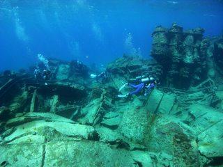 沈潜ダイビング 1.23サイパン