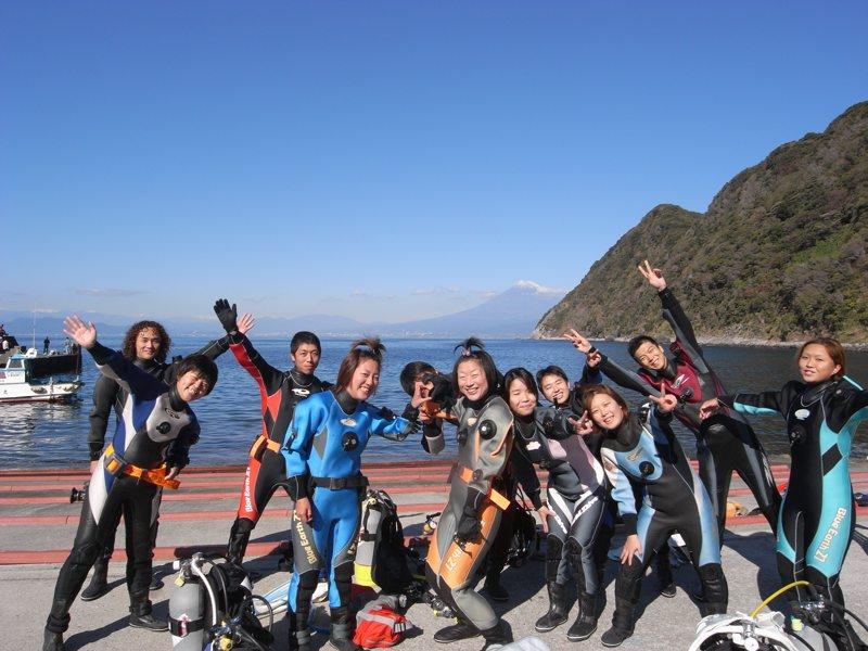 今日も楽しくダイビング 11.22井田
