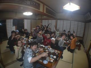 忘年会in堂ヶ島 12.13