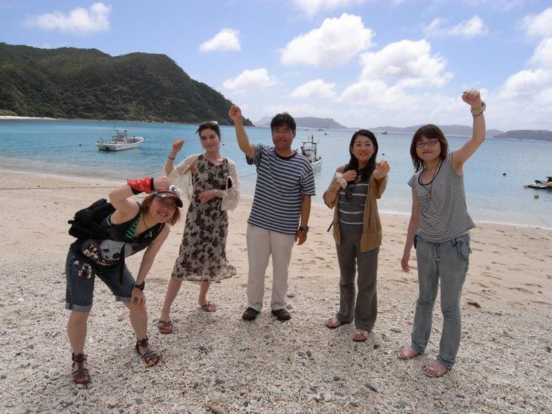 沖縄ケラマでダイビング