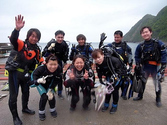 ダイビング楽し〜♪